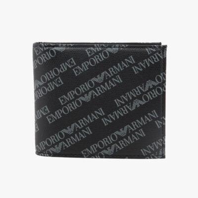 Πορτοφόλι Emporio Armani Y4R167-YLO7E-86526 Μαύρο