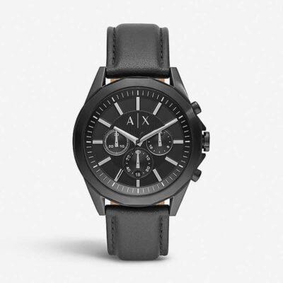 Ρολόι Μπαταρίας Armani Exchange AX2627 Μαύρο
