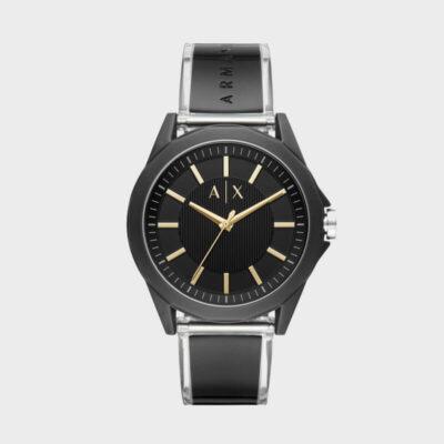 Ρολόι Μπαταρίας Armani Exchange Drexler AX2640 Μαύρο
