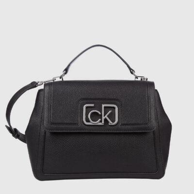 Τσάντα Χειρός Calvin Klein K60K607091 Μαύρο