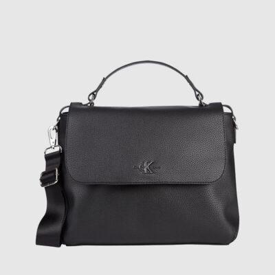 Τσάντα Χειρός Calvin Klein K60K607206 Μαύρο