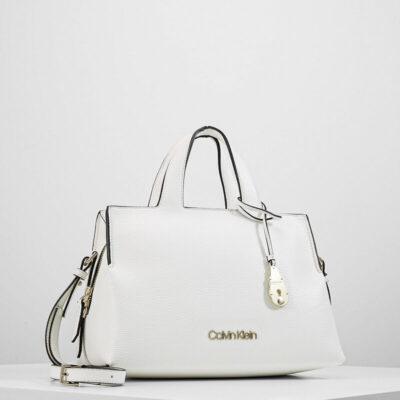Τσάντα Χειρός Calvin Klein Neat K60K606426 Άσπρο