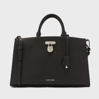 Τσάντα Tote Χειρός Calvin Klein K60K606681-BAX Μαύρο
