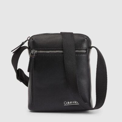 Τσαντάκι Χιαστί Calvin Klein Mini Reporter K50K506106 Μαύρο