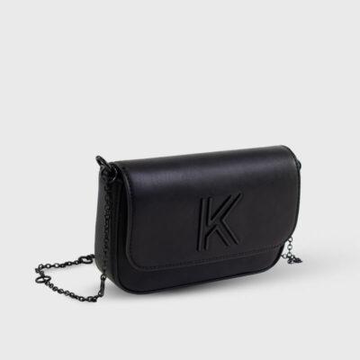 Τσαντάκι Χιαστί Kendall + Kylie Arya HBKK-420-0003-26 Μαύρο