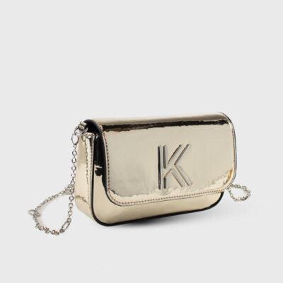 Τσαντάκι Χιαστί Kendall + Kylie Arya HBKK-420-0003-31 Χρυσό