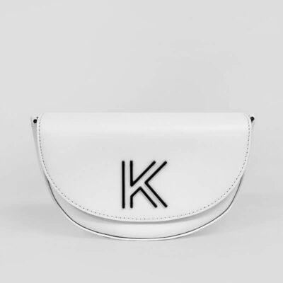 Τσαντάκι Χιαστί Kendall + Kylie Cynthia HBKK-121-0009-1 Άσπρο