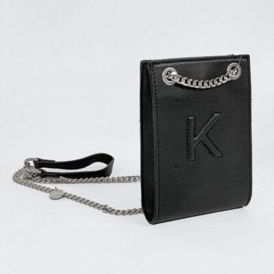 Τσαντάκι Χιαστί Kendall + Kylie HBKK-420-0001-26 Μαύρο