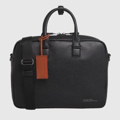 Χαρτοφύλακας Calvin Klein Bombe K50K505515 Μαύρο