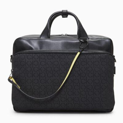 Χαρτοφύλακας Calvin Klein K50K505684-BAX Μαύρο