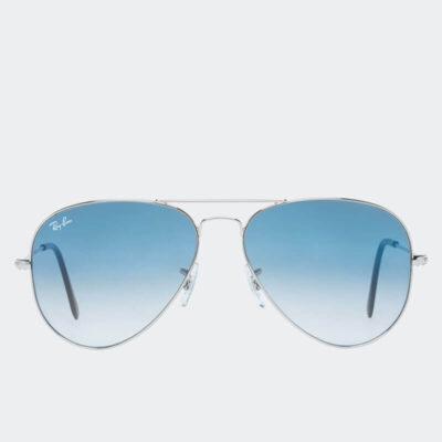 Γυαλιά Ηλίου Ray Ban RB3025 0013F Ασημί Μπλε