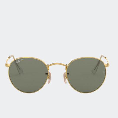 Γυαλιά Ηλίου Ray Ban Round RB3447 001 50 Χρυσό Πράσινο