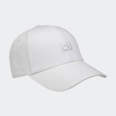 Καπέλο Calvin Klein Signature Embroidery K60K606515-YAD Άσπρο
