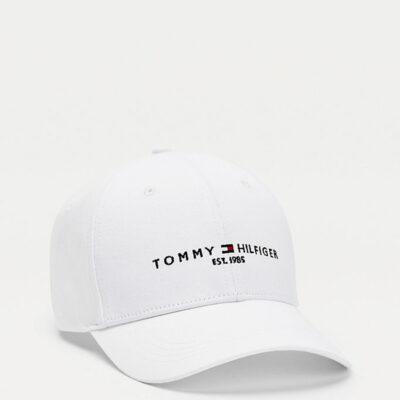 Καπέλο Tommy Hilfiger Established AM0AM07352-YCF Άσπρο
