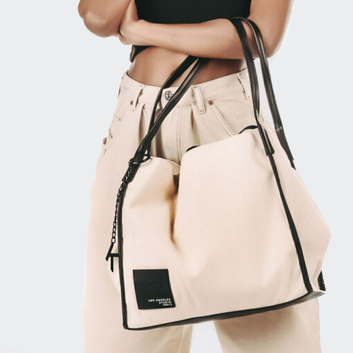 Τσάντα Ώμου Kendall + Kylie Chrishell HBKK-221-0008-0 Μπεζ (5)