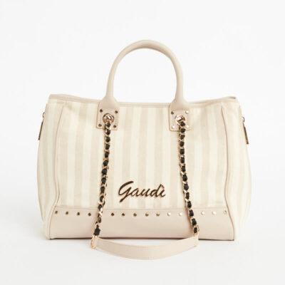 Τσάντα Χειρός Gaudi V1AE-10100-V0025 Μπεζ