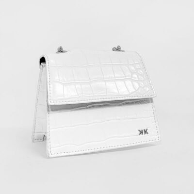 Τσαντάκι Χιαστί Kendall + Kylie HBKK-221-0002-1 Άσπρο