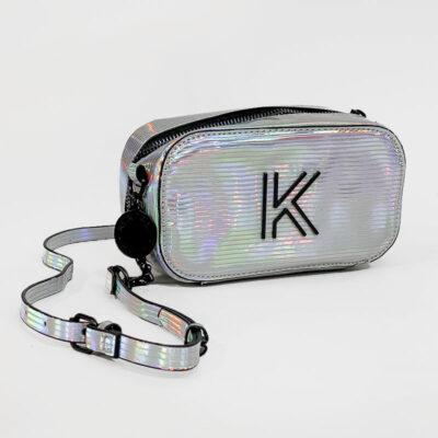 Τσαντάκι Χιαστί Kendall + Kylie HBKK-221-0003-17 Ιριδίζον
