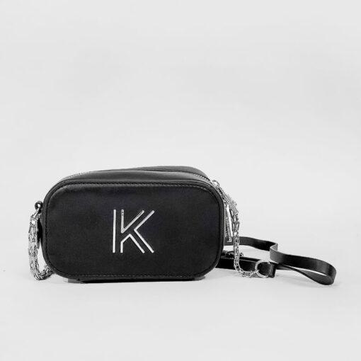Τσαντάκι Χιαστί Kendall + Kylie HBKK-221-0003-26 Μαύρο