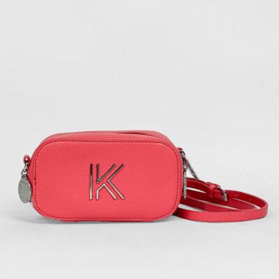 Τσαντάκι Χιαστί Kendall + Kylie HBKK-221-0003-85 Κοραλί