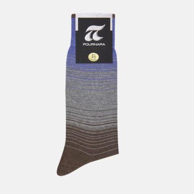 Βαμβακερές Κάλτσες Πουρνάρα Με Ρίγες 3659-1 Πολύχρωμο