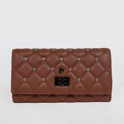 Γυναικείο Πορτοφόλι Με Τρουκς Pierre Cardin 8671 Καφέ