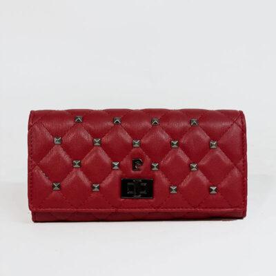 Γυναικείο Πορτοφόλι Με Τρουκς Pierre Cardin 8671 Κόκκινο