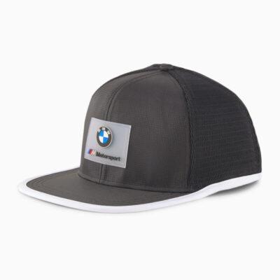Καπέλο Puma BMW M Motorsport Flat Brim 023090-01 Μαύρο