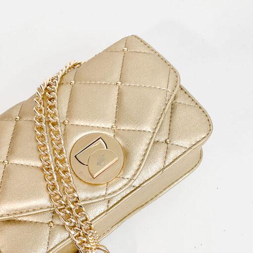 Καπιτονέ Τσαντάκι Beverly Hills Polo Club BH-2400 Χρυσό (3)