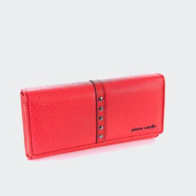 Μεγάλο Πορτοφόλι Pierre Cardin 8671 Κόκκινο