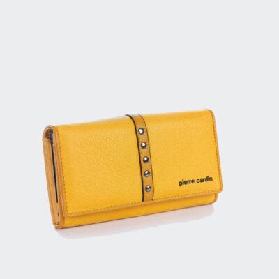 Μικρό Πορτοφόλι Pierre Cardin 867 Κίτρινο
