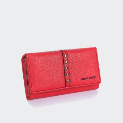 Μικρό Πορτοφόλι Pierre Cardin 867 Κόκκινο