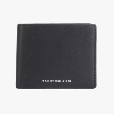 Πορτοφόλι Tommy Hilfiger AM0AM07302-BDS Μαύρο