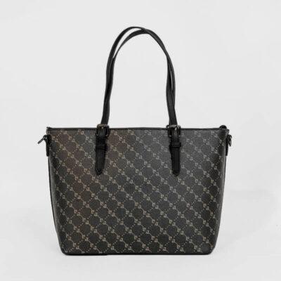 Τσάντα Ώμου Με Λογότυπο Pierre Cardin 93831 Μαύρο