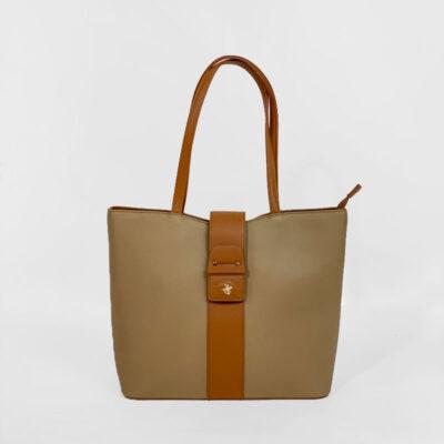 Τσάντα Ώμου Beverly Hills Polo Club BH-2452 Καφέ