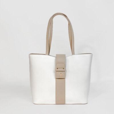 Τσάντα Ώμου Beverly Hills Polo Club BH-2452 Panna Άσπρο