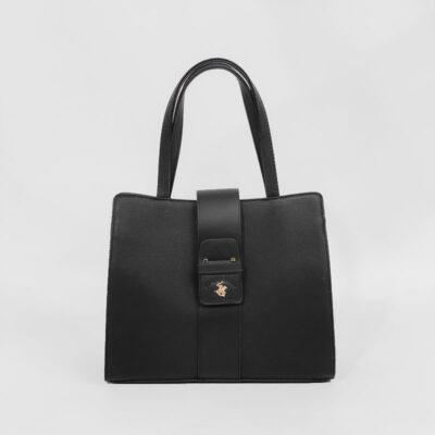 Τσάντα Χειρός Beverly Hills Polo Club BH-2450 Μαύρο