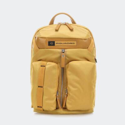 Υφασμάτινο Σακίδιο Piquadro CA5038BIO-G Κίτρινο