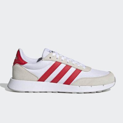 Sneaker Adidas Run 60s 2.0 FZ0963 Άσπρο Κόκκινο