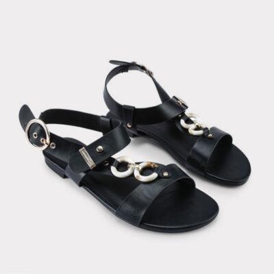 Ίσια Σανδάλια Betsy Veronica 91705507-01 Μαύρο (3)