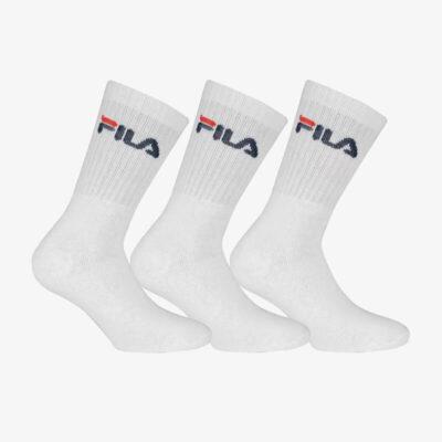 Αθλητικές Κάλτσες Fila 3 ζεύγη F9505-300 Άσπρο