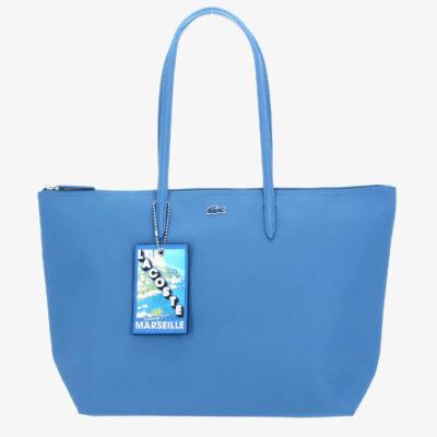 Τσάντα Ώμου L.12.12 Concept Seasonal NF3428SJ-G63 Γαλάζιο