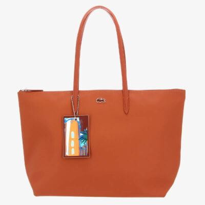 Τσάντα Ώμου L.12.12 Concept Seasonal NF3527SJ-G62 Πορτοκαλί