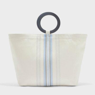 Τσάντα Θαλάσσης Gant 4970030-319-GC-113-0 Άσπρο