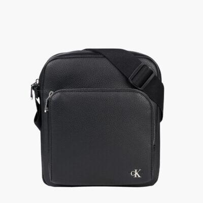 Τσαντάκι Χιαστί Calvin Klein K50K506384-BDS Μαύρο