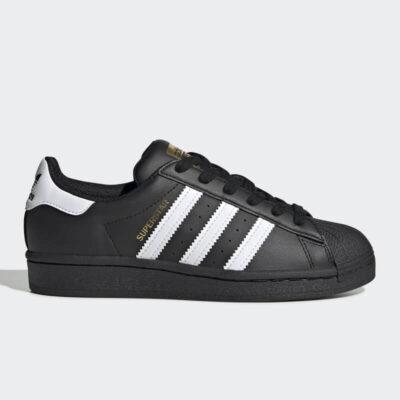 Sneaker Adidas Superstar J EF5398 Μαύρο