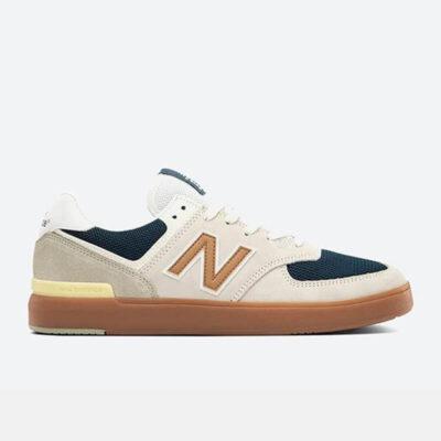 Sneaker New Balance 574 AM574WYG Μπεζ Μπλε