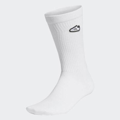 Κάλτσες Adidas Originals Super Socks 1 ζεύγος FM0720 Άσπρο