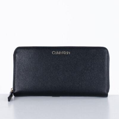 Πορτοφόλι Calvin Klein K60K607554-BAX Μαύρο