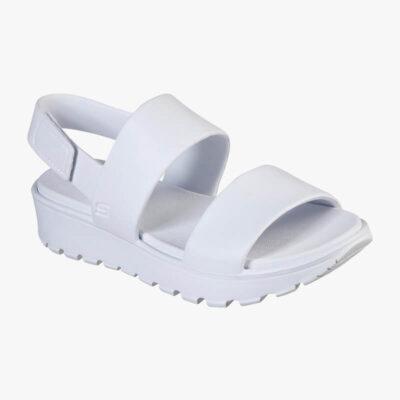 Σανδάλι Skechers Breezy Feels 111054-WHT Άσπρο